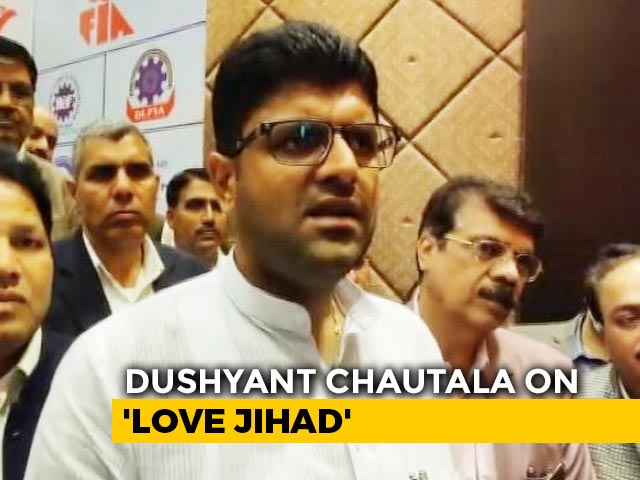 """Video : """"Don't Agree With 'Love Jihad' Term"""": Ally As BJP In Haryana Plans Law"""