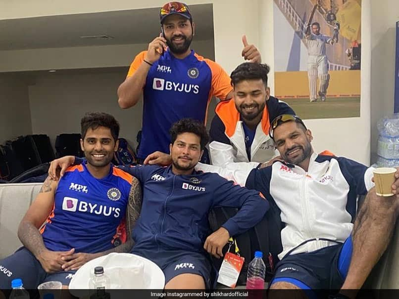 "India vs England: Shikhar Dhawan Posts Pic From ""Lovely Meeting"" With Rishabh Pant, Others"