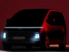 Hyundai Staria MPV Officially Teased