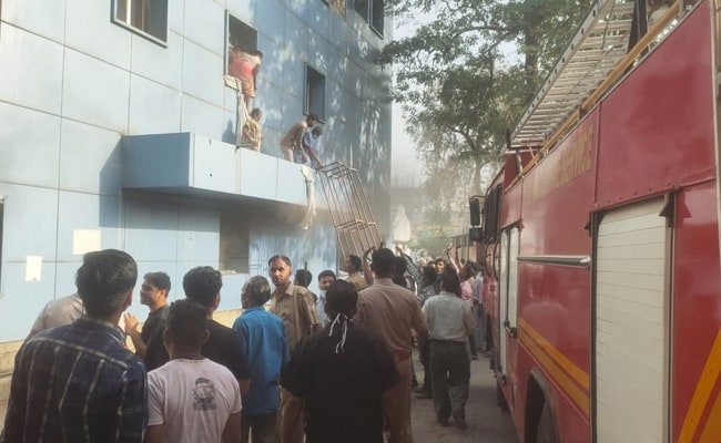 Around 150 Patients Move Out As Fire Breaks Out At UP Hospital