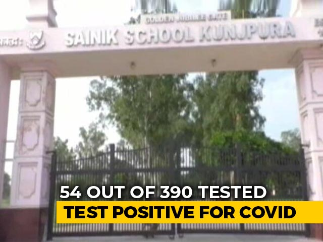 Video : 54 Students Test Covid Positive At A School In Haryana's Karnal