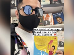 Ayushmann Khurrana Spotted Tahira Kashyap At The Delhi Airport. But Was She Really There?