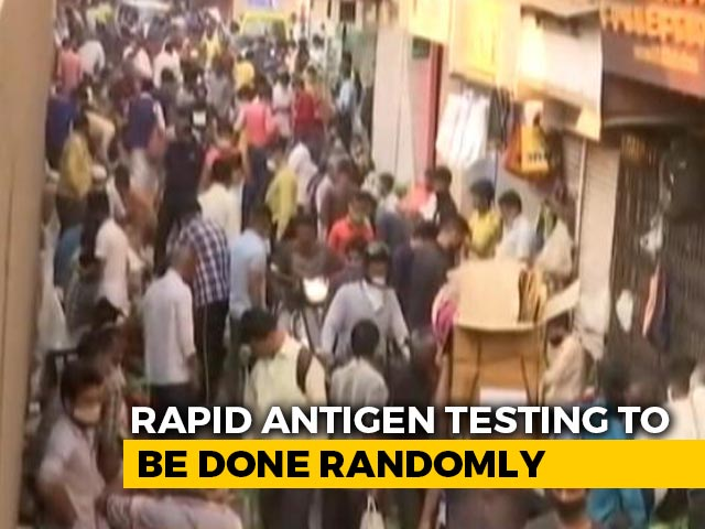 Video : Mumbai To Randomly Test For Covid In Crowded Places