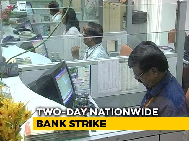 Video : 2-Day Bank Strike: Services To Be Hit As 10 Lakh Employees Join Protest