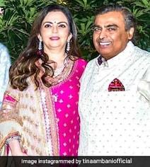 'Lifetime Of Togetherness': Tina Ambani's Anniversary Wishes For Mukesh Ambani, Wife