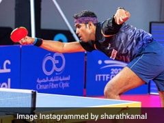 World Table Tennis Contender Doha: Sharath Kamal Off To Winning Start, Sathiyan Gnanasekaran Bows Out