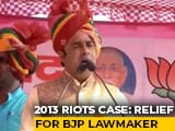 Video : Relief For UP BJP Leader In Riots Case Filed By Cop Murdered 3 Years Ago
