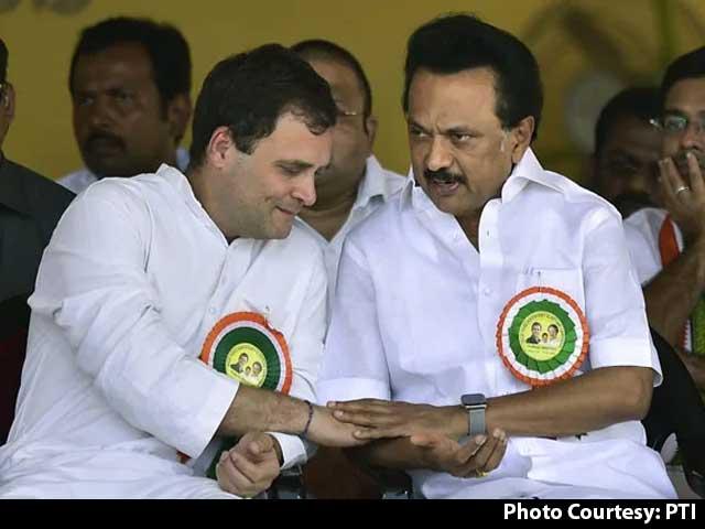 "Video : ""We Will Win Big"": DMK, Congress Seal Alliance Deal In Tamil Nadu"
