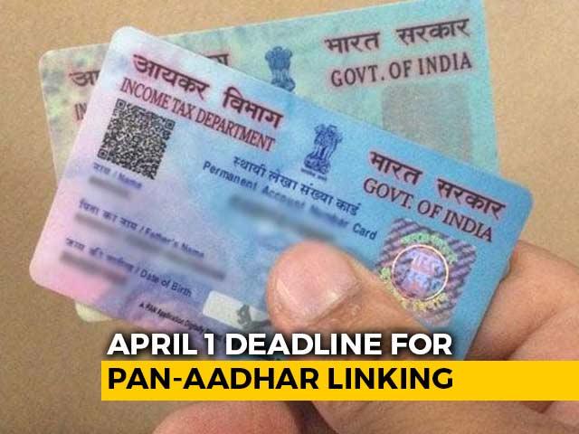 Video : Deadline For PAN-Aadhaar Linking Is Tomorrow: How To Link Aadhaar-PAN Online