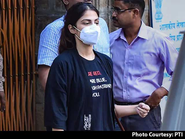 Video : Rhea Chakraborty, 32 Others Named In Anti-Drugs Agency Chargesheet