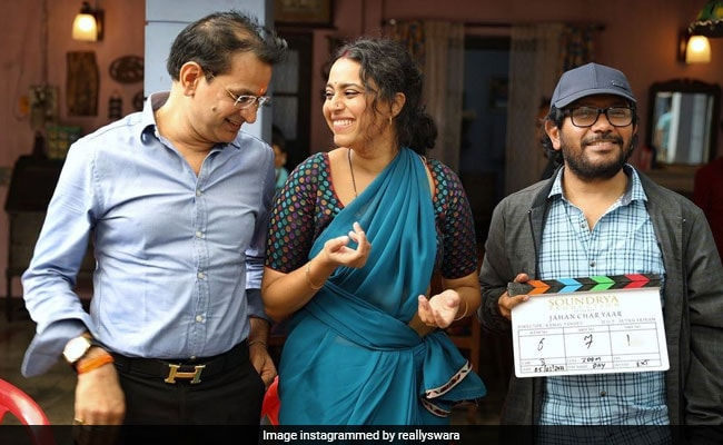Swara Bhasker Reunites With The Makers Of Tanu Weds Manu For Jahaan Chaar Yaar