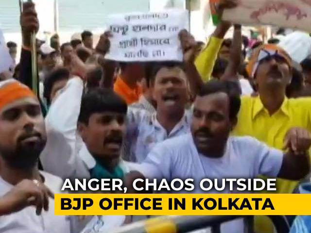 Video : Amid Discontent In Bengal BJP, Amit Shah's Unscheduled Stopover