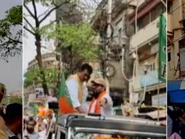 Video : Babul Supriyo Heckled By Trinamool During Filing Of Nomination