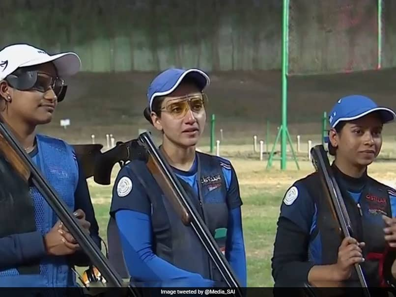 ISSF World Cup: Indian Womens Trap Team Settles For Silver