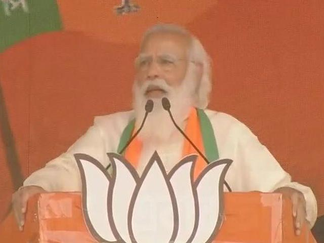 Video : 'If Scooty Falls In Nandigram, What Can We Do?': PM's Swipe At Mamata Banerjee
