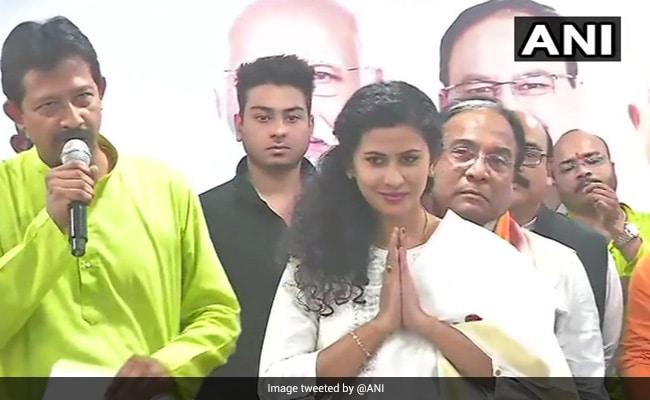 Actors Rajshree Rajbanshi, Bonny Sengupta Join BJP In Bengal