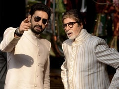 """In Post For Abhishek, Amitabh Bachchan Writes What Happens """"When Your Son Starts Wearing Your Shoes"""""""