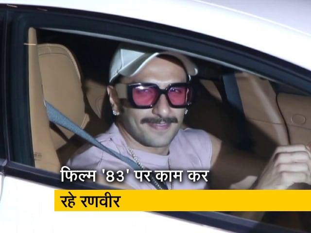 Videos : बॉलीवुड: रणवीर सिंह जिम तो रितेश देशमुख सैलून के बाहर हुए स्पॉट
