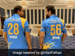 "Irfan Pathan Shares ""Post Retirement Pic"" With Brother Yusuf Ahead Of Road Safety Series"