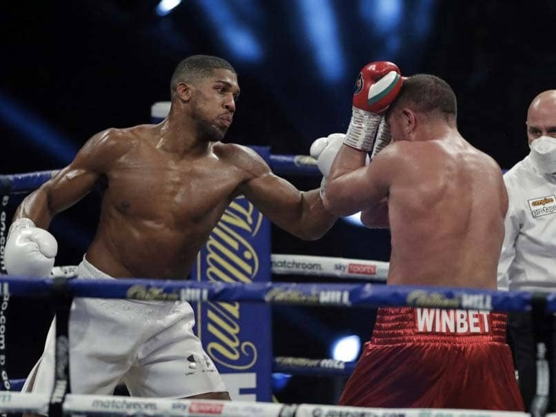 Anthony Joshua, Tyson Fury Sign Two-Fight Heavyweight Unification Deal, Says Joshuas Promoter