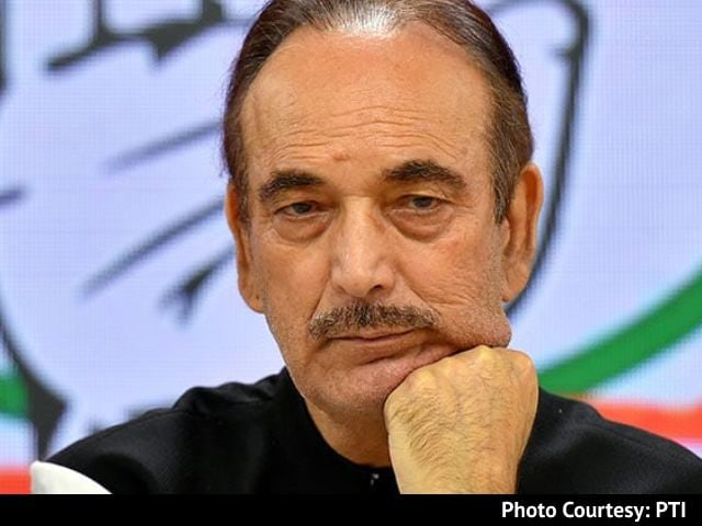 "Video : ""Will Campaign Wherever Called"": Ghulam Nabi Azad Amid Congress Strife"