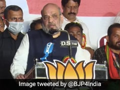 Amit Shah's 7 Questions On Gold Scam To Kerala Chief Minister At Rally