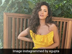Esha Gupta Is A Tropical Sunflower In Her Picture Perfect Yellow Dress