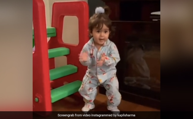 Viral: Kapil Sharma's Little Daughter Anayra Dancing To Honey Singh's Song Jingle Bell