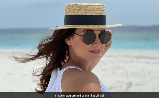 """No Points For Guessing Who Clicked This Stunning Pic Of Dia Mirza. She Thinks He Is """"Getting Better"""""""