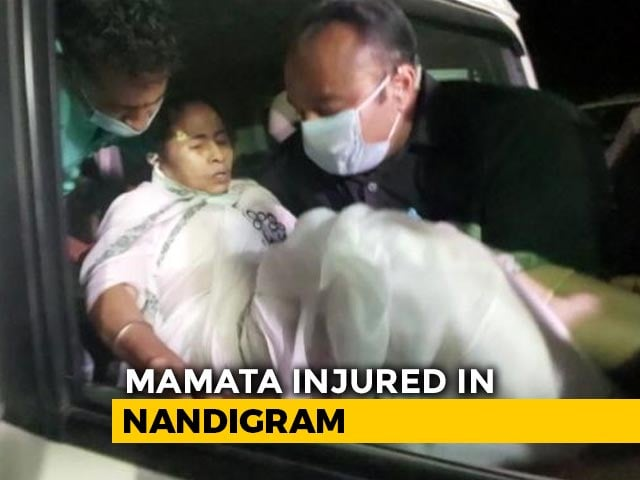 Video : Mamata Banerjee Sustains Leg Injury, Says Attacked by 4-5 People