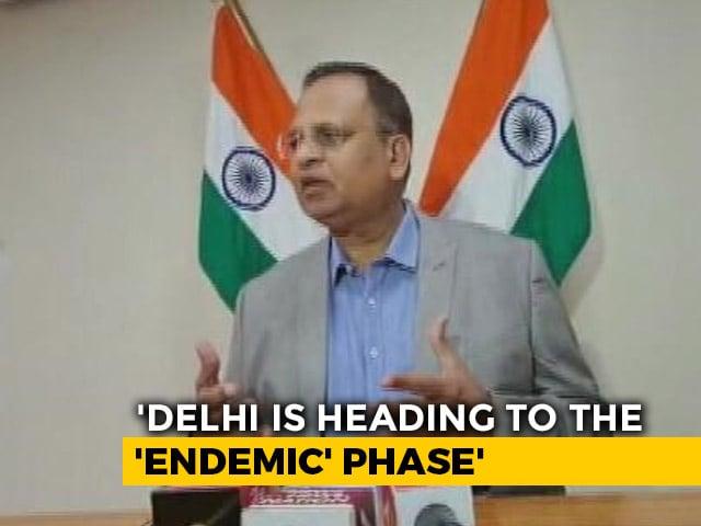 """Video : """"Pandemic Phase Ending, City Entering Endemic Phase"""": Delhi Minister"""