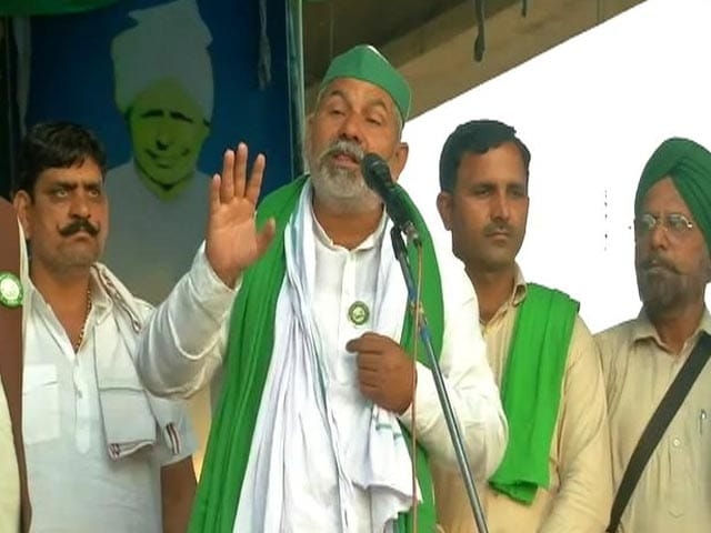 "Video : ""Will Turn Lucknow Into Delhi"": Farmers' Challenge To Yogi Adityanath"