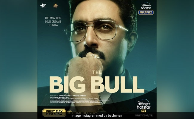 Amitabh Bachchan Sends 'Love And Wishes' To Son Abhishek's The Big Bull
