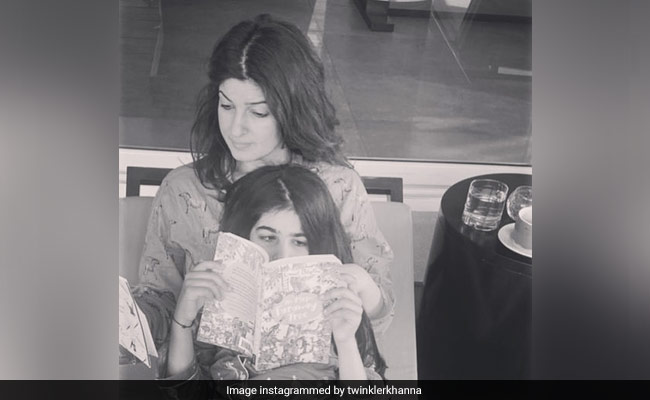 Twinkle Khanna Shares Reality Of Working From Home With Daughter Nitara Around