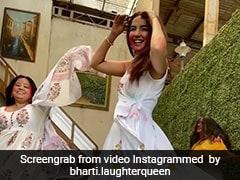 जैस्मिन भसीन ने 'बारिश की जाए' सॉन्ग पर झूमकर किया डांस, भारती सिंह भी साथ आईं नजर- देखें Video