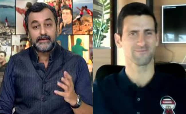 Exclusive The Novak Djokovic Interview to NDTV on spending 311 weeks as No.1 ranked player on ATP rankings