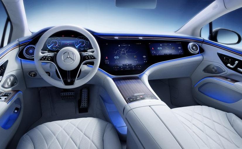 Mercedes-Benz EQS Cabin Revealed