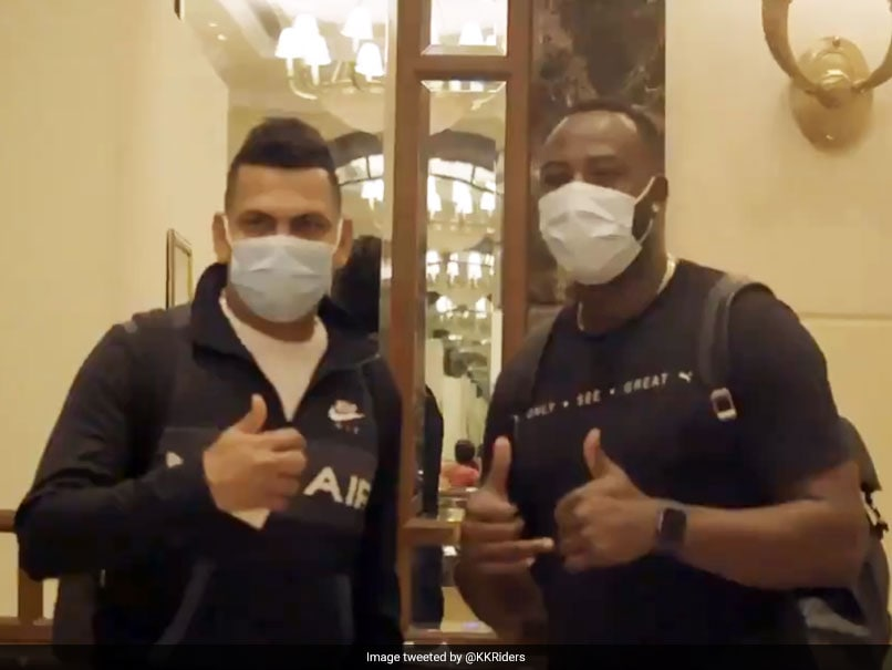 IPL 2021: Andre Russell, Sunil Narines Message For KKR Fans As They Arrive In India. Watch