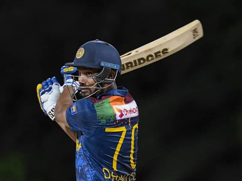 "West Indies vs Sri Lanka: Danushka Gunathilaka Given Out ""Obstructing The Field"". Watch"