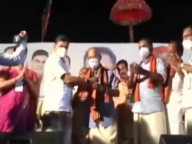 Video : Flip-Flop Over 'Metro Man' E Sreedharan As BJP's Chief Minister Candidate