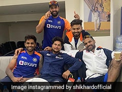 """India vs England: Shikhar Dhawan Posts Pic From """"Lovely Meeting"""" With Rishabh Pant, Others"""