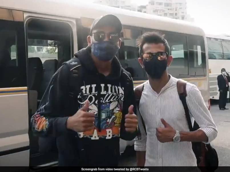 IPL 2021: Yuzvendra Chahal, Mohammed Siraj Join RCB Camp. Watch