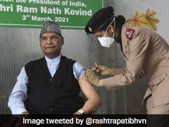 President Ram Nath Kovind Gets First Dose Of Covid Vaccine In Delhi