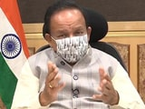"Video : ""Will See Exponential Growth In Vaccinations"": Dr Harsh Vardhan To NDTV"