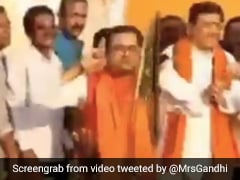 Watch: Ex-Trinamool Leader Performs Squats Holding Ears On Stage After Joining BJP