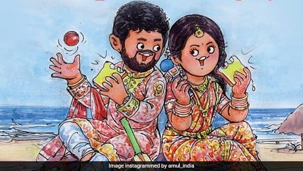 Viral Now: Amul's Sweet Tribute To Jasprit Bumrah-Sanjana Ganesan Wedding
