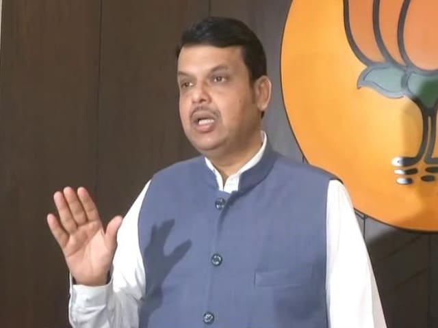 "Video : ""Sack Him"": Devendra Fadnavis On Cop's Letter Against Anil Deshmukh"