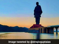 Footfall At Statue Of Unity Crosses 50 Lakh-Mark Since Inauguration