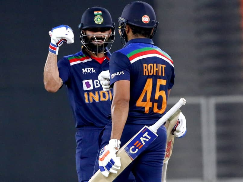 India vs England 5th T20I: Rohit Sharma, Virat Kohlis Explosive Opening Stand Sends Twitter In Frenzy