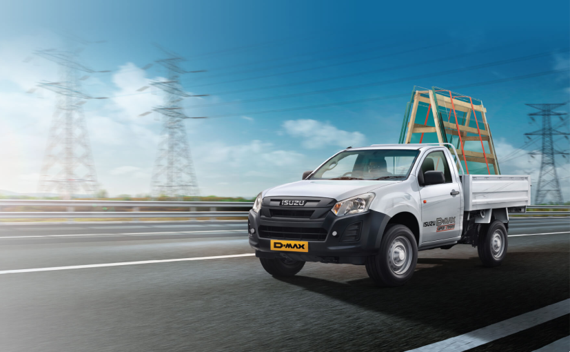 Isuzu's commercial vehicle range comprises the D-Max Regular cab and the S-Cab